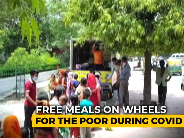 Video : Noida Businessman Feeds The Poor Amid Pandemic