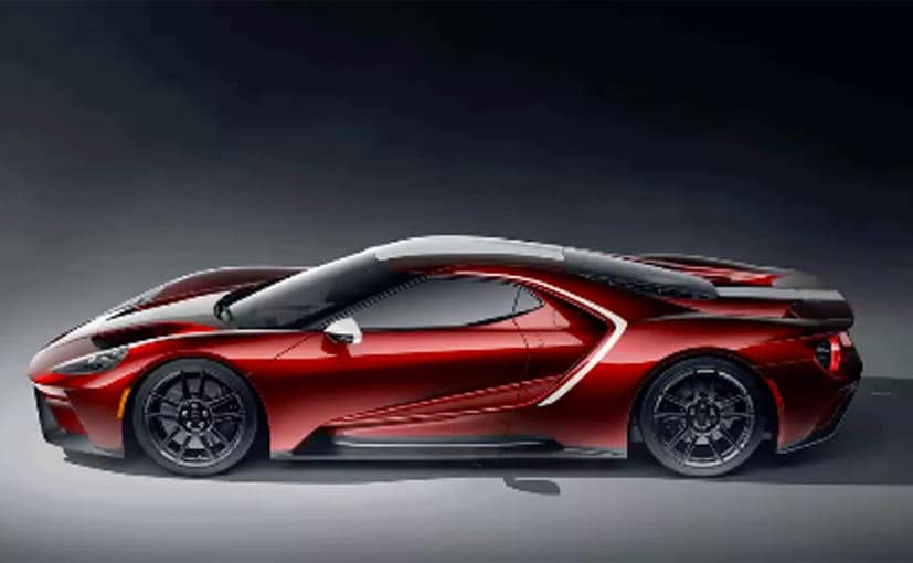 The 2021 Ford GT will be offered in three customisable colour options.