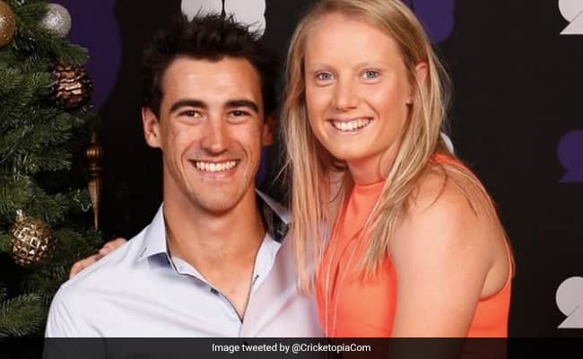 Mitchell Starcs wife Alyssa Healy schools Twitter user for drawing comparisons between Mohammed Siraj and Aussie pacer
