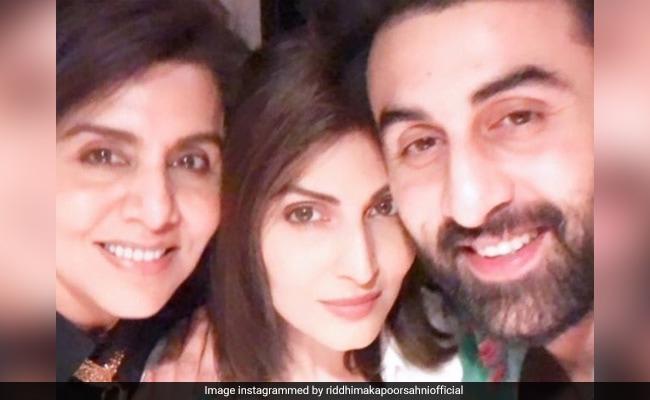 'We're Fit': Riddhima Kapoor Sahni Dismisses Rumours That Brother Ranbir And Mom Neetu Kapoor Test Coronavirus-Positive