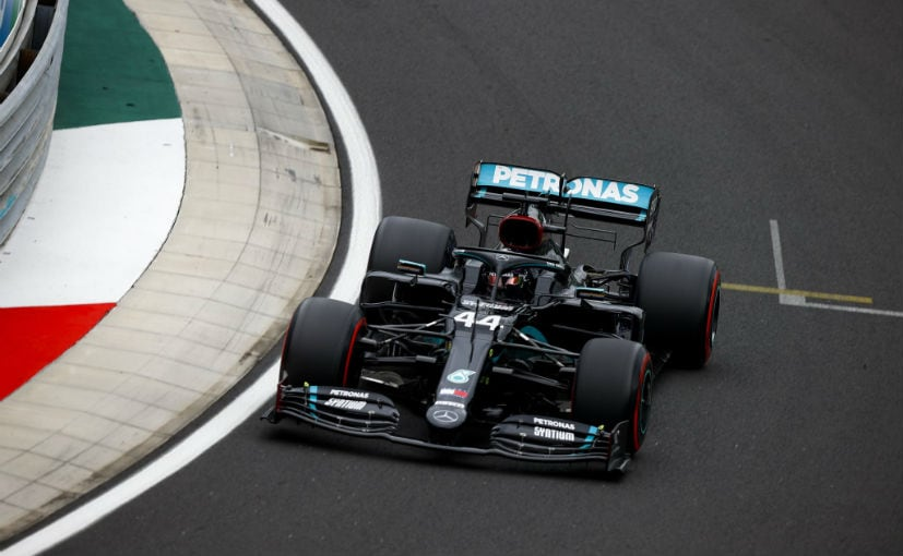Both Hamilton and Bottas start the Hungarian GP from the front row, followed by the Racing Point twins