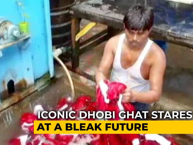 Video: Mumbai's Iconic Open-Air Laundry Suffers Loss Of Business Due To COVID-19