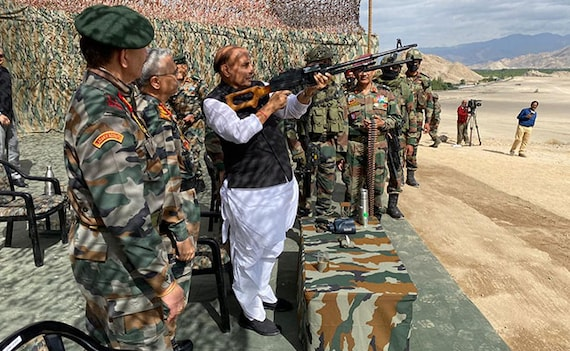 Ban On 101 Defence Items Imports In Push For Self-Reliance: Rajnath Singh