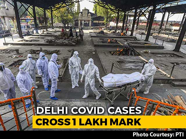 Video: Delhi Coronavirus Tally Crosses 1 Lakh, Reports 1,379 Cases In A Day
