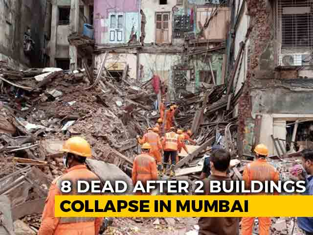 Video : 8 Dead After 2 Buildings Collapse In Mumbai, Bodies Pulled Out Overnight