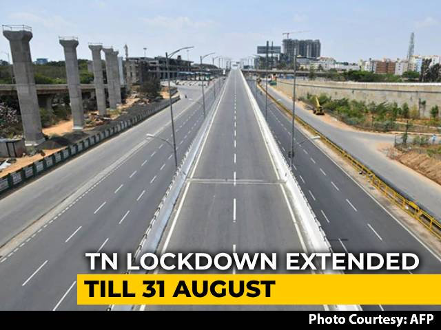 Video : Tamil Nadu Extends COVID-19 Lockdown Till August 31 With New Relaxations