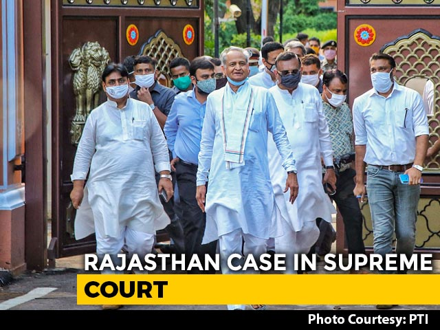 Video : Supreme Court Hearing On Rajasthan Today And A Congress Dilemma