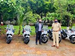 Mumbai Police Adds 10 Suzuki Gixxer SF 250 Motorcycles To Its Fleet