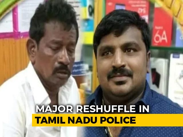 Video : Tamil Nadu Police Shake-Up Amid Outrage Over Father-Son Deaths In Custody