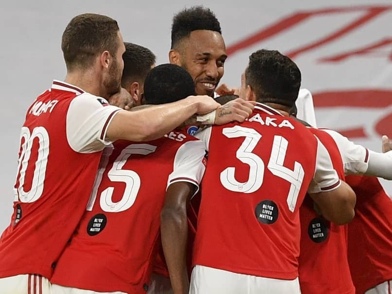 Pierre-Emerick Aubameyang Stuns Manchester City As Arsenal Reach Record 21st FA Cup Final