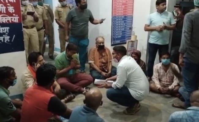 'Negligent': UP BJP MLA Holds Overnight Protest Outside Police Station