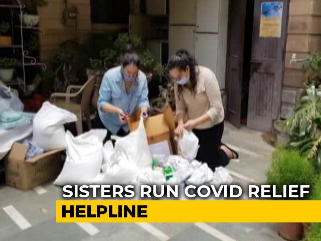 Video : Delhi Teen Twins, Friends Running COVID Relief Helpline Without Donations