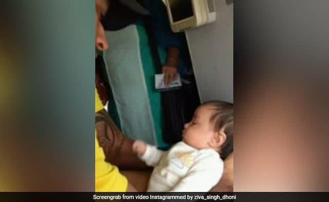 Ziva Dhoni Sings Song for MS Dhoni on his 39th Birthday Watch Video