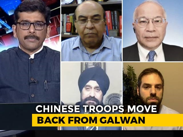 Video : China Withdrawing In Galwan, Tents Gone, Troops Reduced