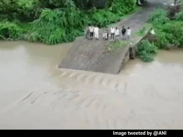 Video: Dramatic Video Shows 30-Year-Old Gujarat Bridge Washed Away By Rain