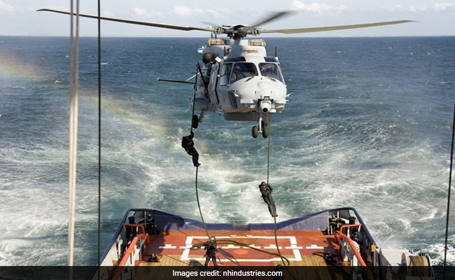 Dutch Military Helicopter Crashes In Caribbean Sea, Pilot, Tactical Coordinator Killed