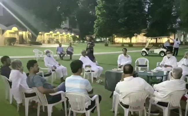 """""""Will Attend"""" Assembly Session: Team Pilot, Camping In Haryana"""