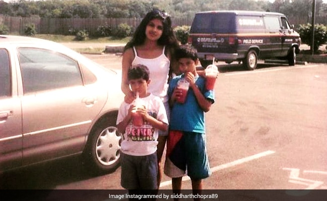 For Priyanka Chopra, Brother Siddharth's Birthday Greeting Was A Major Blast From The Past