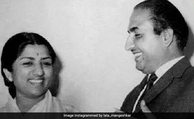 Lata Mangeshkar Shares Priceless Throwback Pics On Mohammed Rafi's Death Anniversary