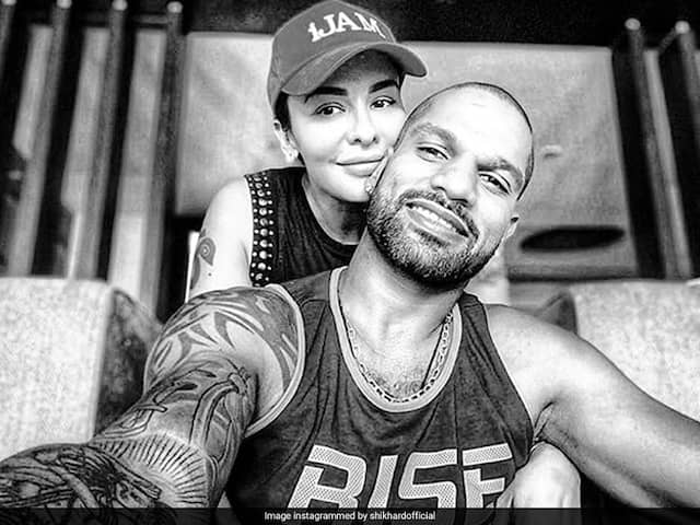 Shikhar Dhawan Shares Loved-Up Picture With Wife Aesha Dhawan
