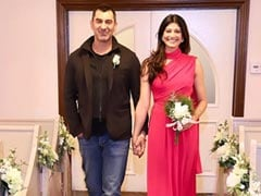 Here's How Pooja Batra And Nawab Shah Celebrated Their First Wedding Anniversary