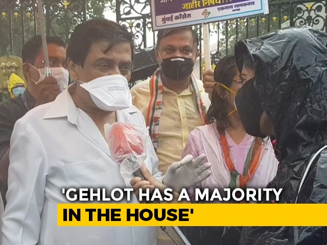 Video : Will Fight Till Democratic Norms Are Restored: Ashok Chavan On Rajasthan
