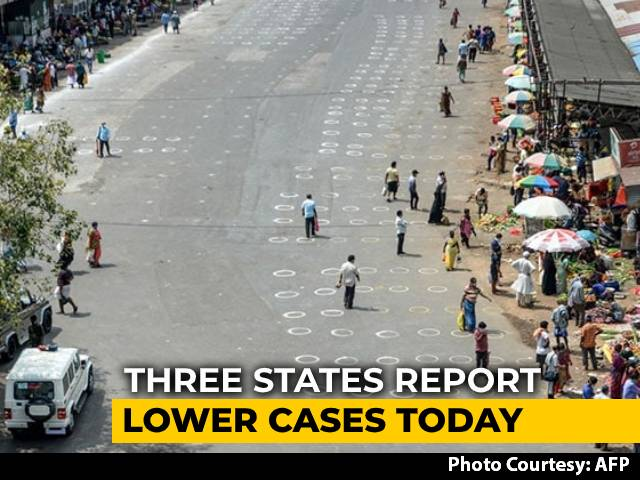 Video : Drop In 3 States Keeps India's Daily Coronavirus Tally Below 50,000
