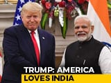 "Video : ""America Loves India"": Trump Thanks PM Modi For US Independence Day Wish"