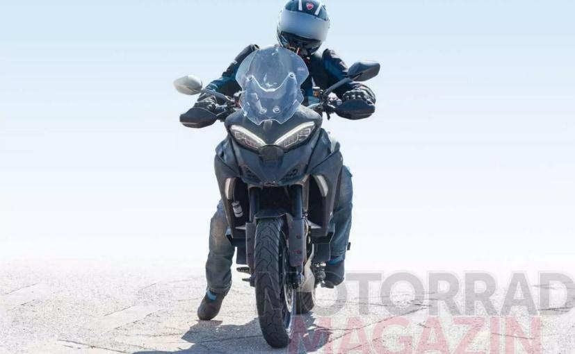 2021 Ducati Multistrada V4 Spotted On Test