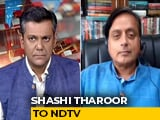 Video : Education Targets Unrealistic Unless Finance Minister Commits More Money: Shashi Tharoor