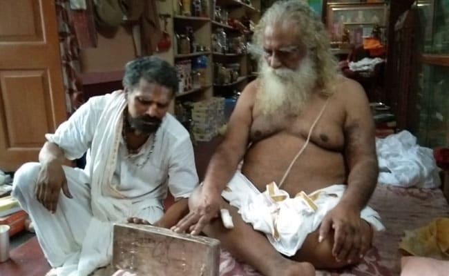 राम मंदिर के भूमिपूजन के लिए 40 किलो की चांदी की शिला समर्पित करेंगे महंत नृत्य गोपाल दास