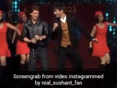 शाहरुख खान को डांस के लिए स्टेज पर खींच लाए थे सुशांत, फिर DDLJ के गाने पर यूं मचाया धमाल- देखें Video
