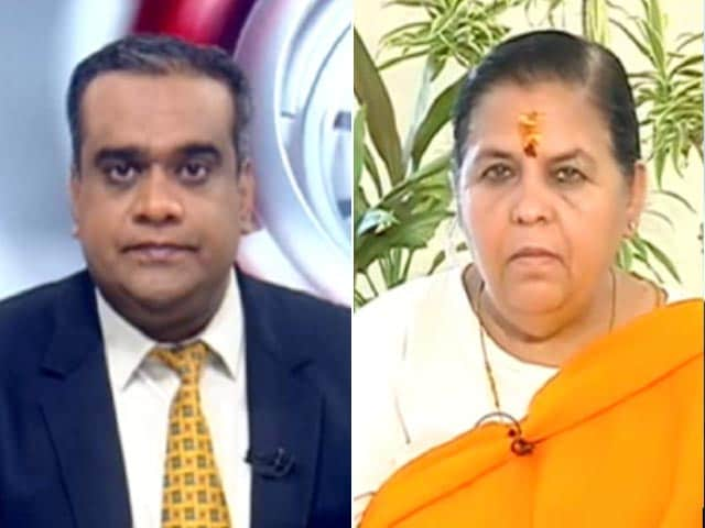Video : Uma Bharti On Ram Temple Ceremony, Sharad Pawar's Remarks And Babri Case