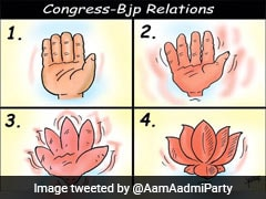 """AAP On """"Congress-BJP Relations"""" As Ashok Gehlot Government Nears Collapse"""