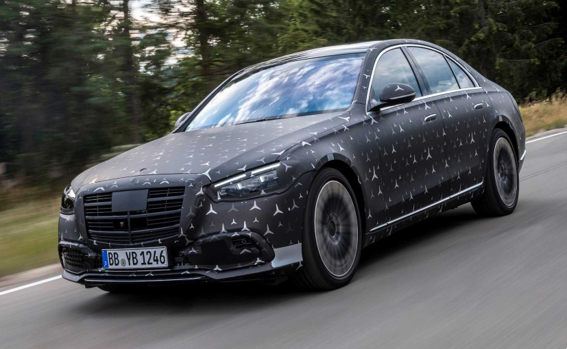 The E-Active Body Control system will be optional on the 2021 Mercedes-Benz S-Class.