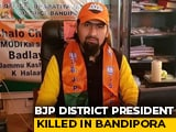 Video : 10 Cops Tasked With Protecting BJP Leader, Shot Dead In J&K, Arrested