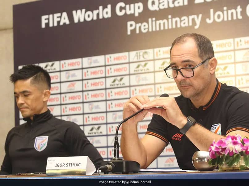 "Sunil Chhetris ""Attitude, Professionalism"" Valuable For Youngsters, Says Head Coach Igor Stimac"