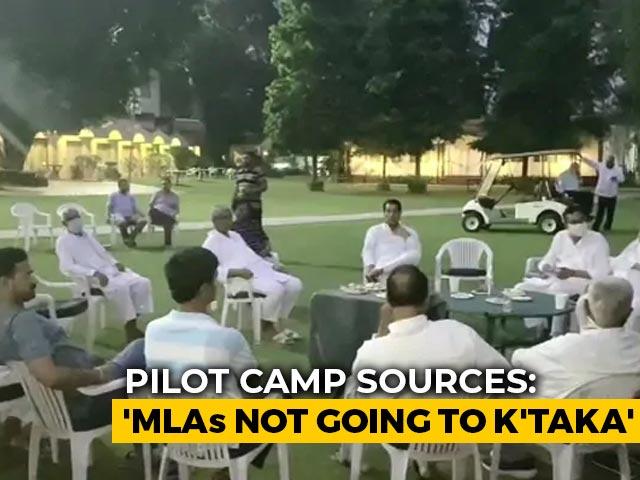 "Video : ""No Way"": Team Pilot MLA Denies Heading To Bengaluru, Location Unknown"
