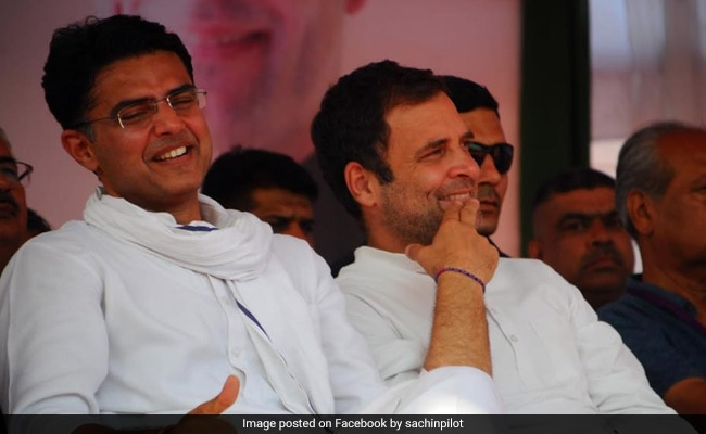 Rahul Gandhi Keen To Keep Door Open For Sachin Pilot: Congress Sources