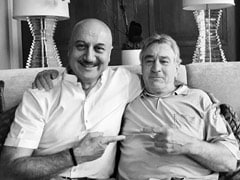 """My Most Priceless Possession"": Anupam Kher Reveals The Story Behind This Pic With Robert De Niro"