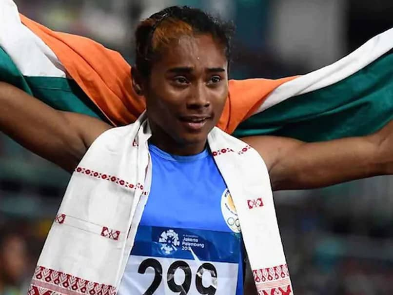 "Sprinter Hima Das ""Not Worried"" About Tokyo Olympics Qualification"