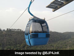Jammu Ropeway Project Launched, 25 Years After It Was Planned