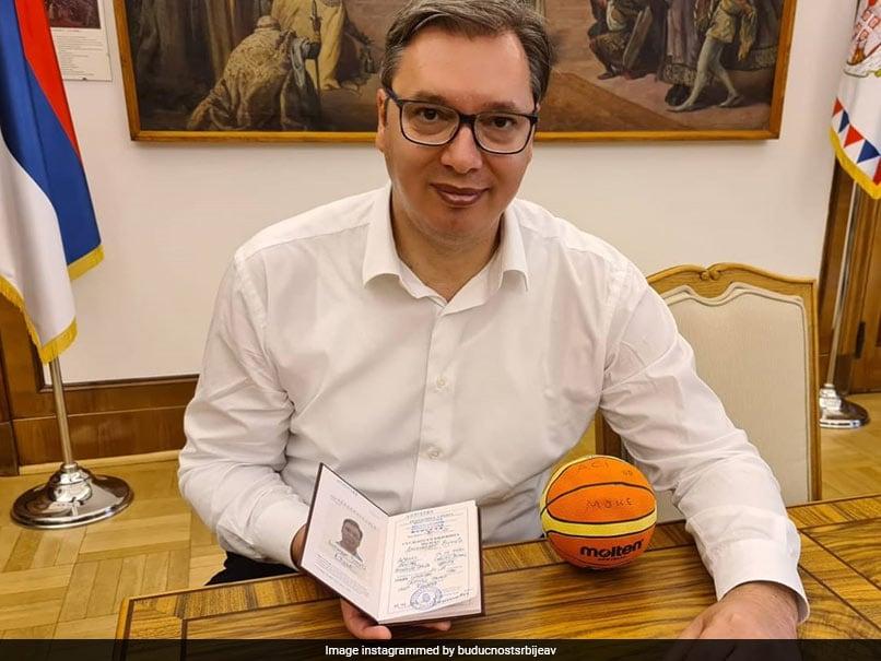 Serbian President To Fulfil Boyhood Dream Of Becoming Basketball Coach