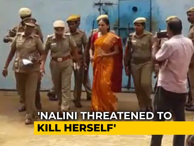 "Video : Rajiv Gandhi Case Convict Nalini ""Threatened To Kill Herself"": Official"