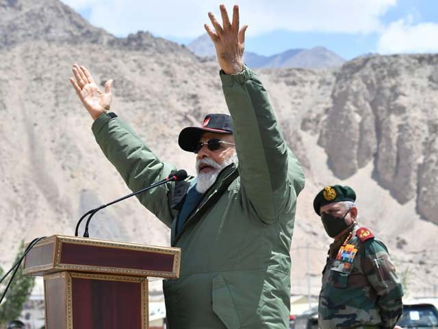 "Video : ""Era Of Expansionism Has Ended"": PM Modi's Strong Message In Ladakh"