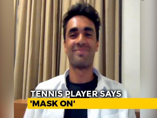 Video : Coronavirus: 20-Year-Old Tennis Player 'Raps For Impact'