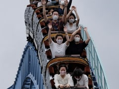"""Watch: """"Scream Inside Heart"""" While On Rollercoaster To Avoid Covid Spread"""