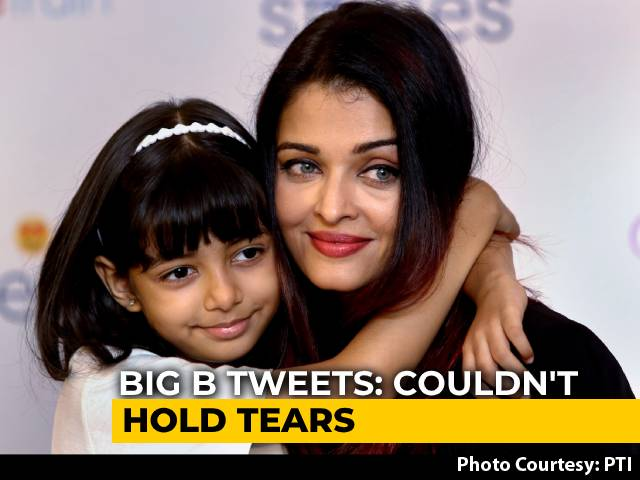 Couldn't Stop Tears: Big B After Aishwarya Is Discharged From Hospital