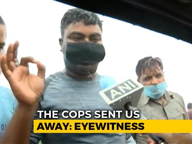 "Video : ""We Heard Gunshots"": Passerby On Gangster Vikas Dubey's Killing"