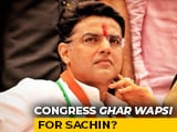 Video : How Sachin Pilot Would Be Rehabilitated: Congress Sources